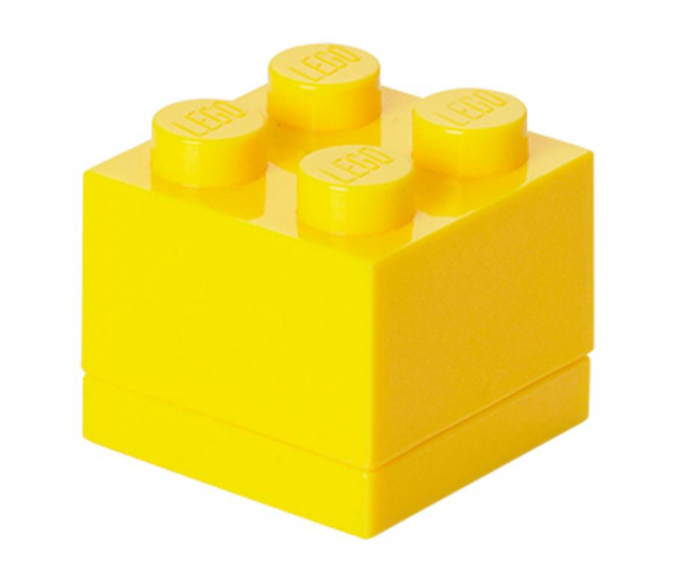 POLTOP LEGO Mini Box 4 żólty - 422152 - zdjęcie