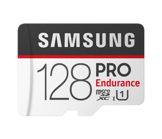 Samsung 128GB microSDXC PRO Endurance UHS-I 100MB/s  - 429923 - zdjęcie