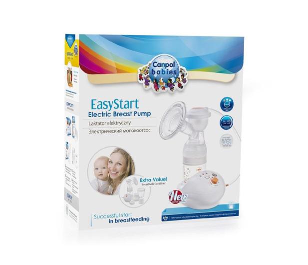 Canpol Laktator Elektryczny EasyStart Butelka - 425961 - zdjęcie 2