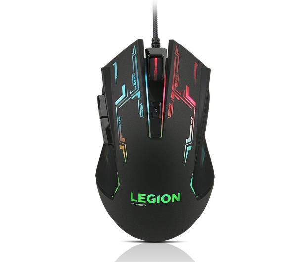 Lenovo Legion M200 Gaming Mouse (czarny, RGB, 2400dpi) - 430920 - zdjęcie