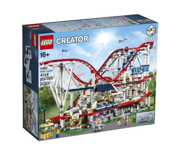 LEGO Creator Kolejka górska - 474668 - zdjęcie