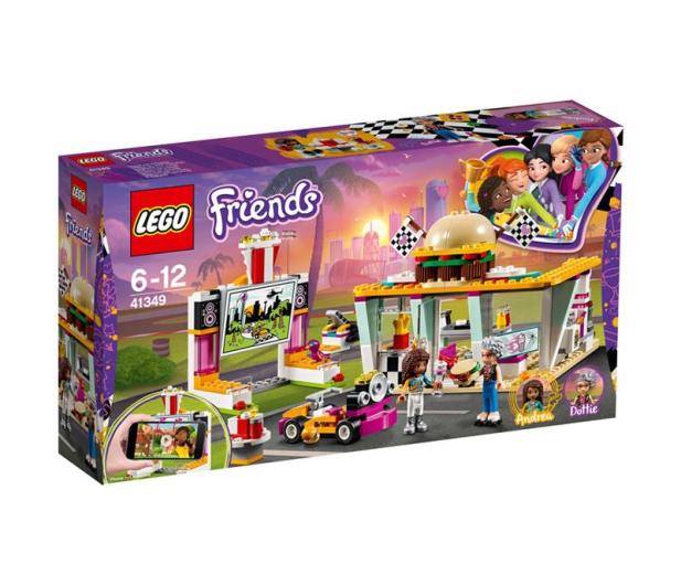 LEGO Friends Wyścigowa restauracja - 431403 - zdjęcie