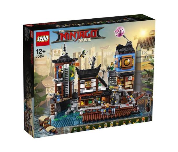 LEGO NINJAGO Movie Doki w Mieście NINJAGO - 431328 - zdjęcie