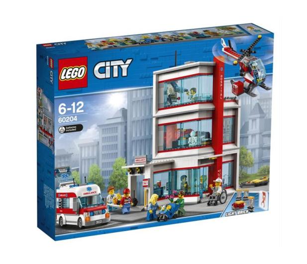 LEGO City Szpital LEGO City - 431356 - zdjęcie