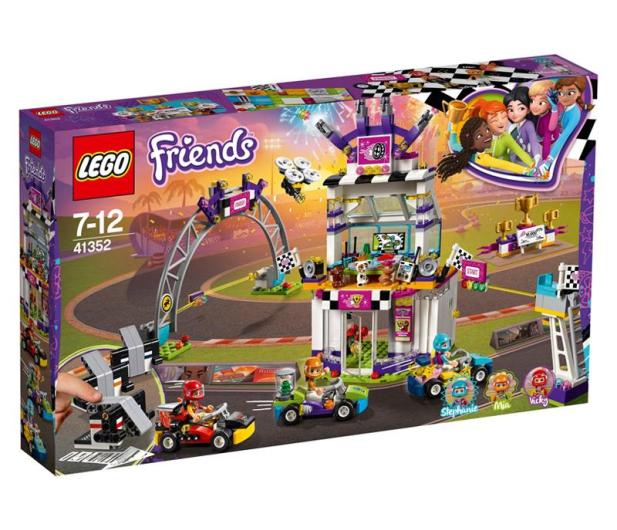 LEGO Friends Dzień wielkiego wyścigu - 431366 - zdjęcie