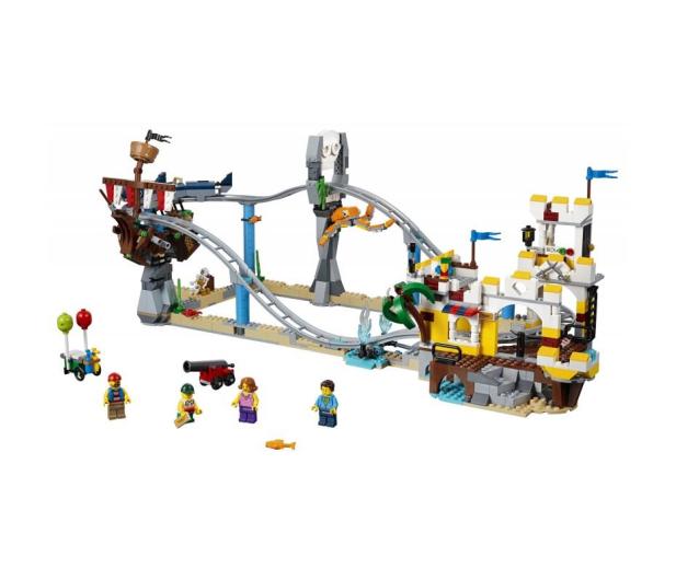LEGO Creator Piracka kolejka górska - 431354 - zdjęcie 2