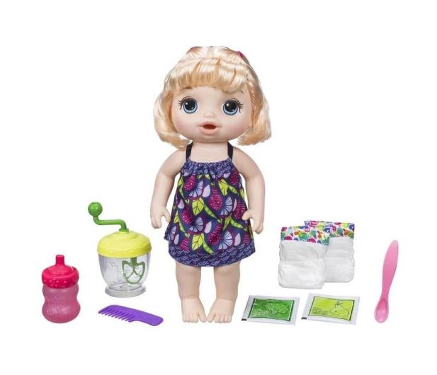 Baby Alive Słodka przekąska blondynka - 429945 - zdjęcie