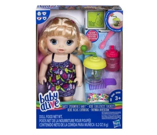Baby Alive Słodka przekąska blondynka - 429945 - zdjęcie 3