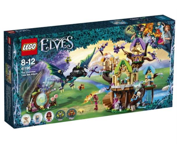 LEGO Elves Atak nietoperzy na Drzewo Elvenstar - 431355 - zdjęcie
