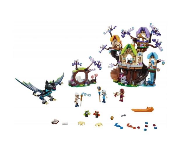 LEGO Elves Atak nietoperzy na Drzewo Elvenstar - 431355 - zdjęcie 2