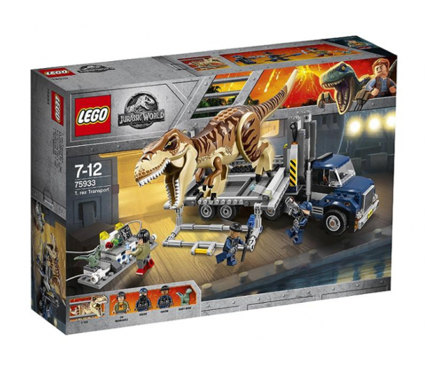 LEGO Jurassic World transport T. Rexa - 430472 - zdjęcie