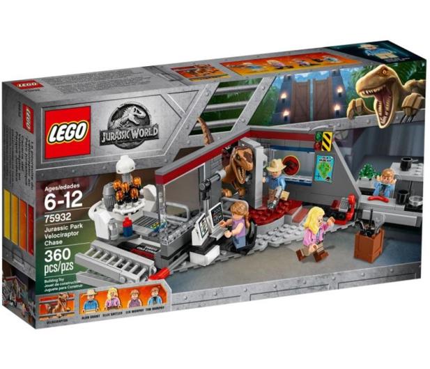 LEGO Jurassic World Pościg raptorów - 430468 - zdjęcie