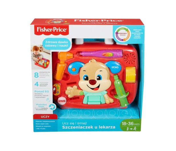 Fisher-Price Szczeniaczek u lekarza  - 410082 - zdjęcie 3