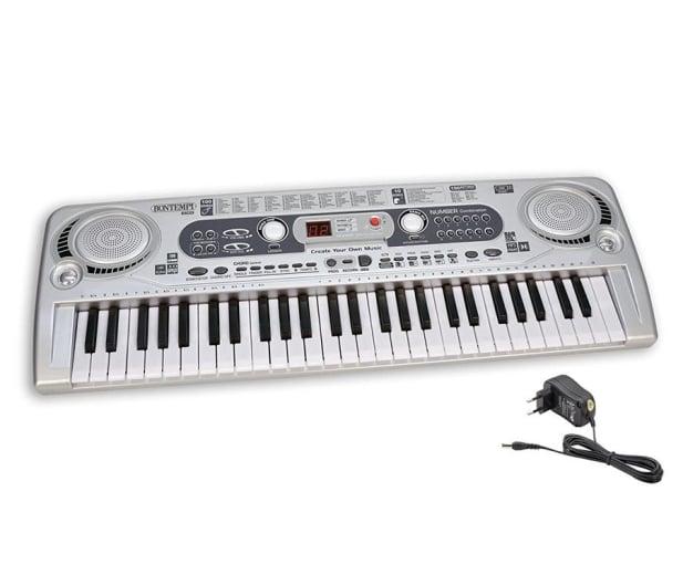 Bontempi PLAY organy elektroniczne 54 klawisze+akces. - 416307 - zdjęcie