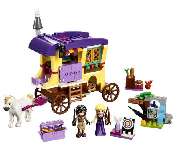 LEGO Disney Karawana podróżna Roszpunki - 432482 - zdjęcie 3