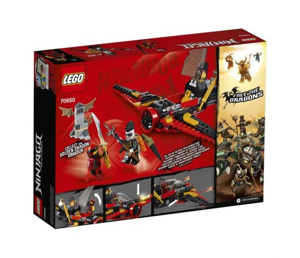 LEGO NINJAGO Skrzydło przeznaczenia - 432539 - zdjęcie 3