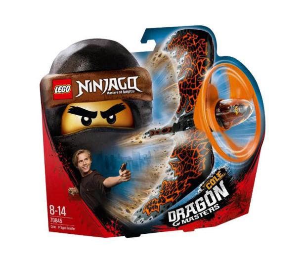 LEGO NINJAGO Cole — smoczy mistrz - 432532 - zdjęcie