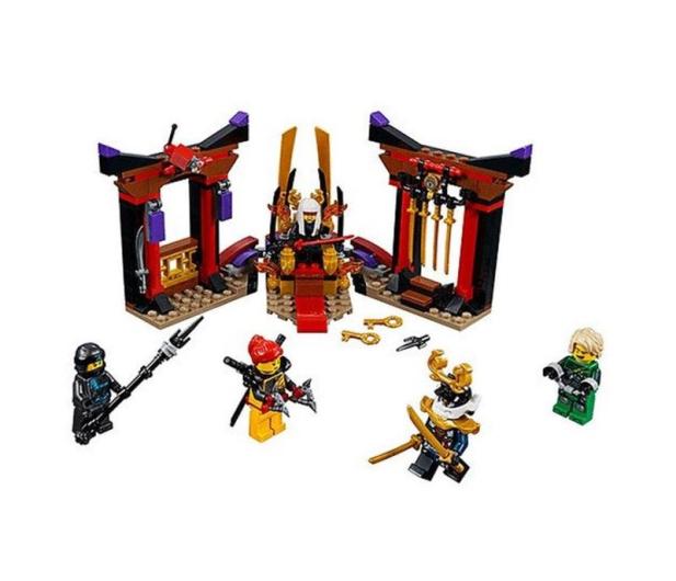 LEGO NINJAGO Starcie w sali tronowej - 432540 - zdjęcie 2