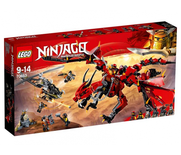 LEGO NINJAGO Firstbourne - 432543 - zdjęcie