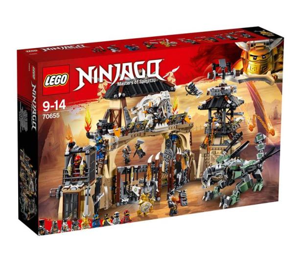 LEGO NINJAGO Smocza jama - 432545 - zdjęcie