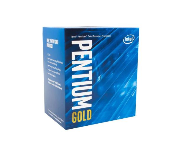 Intel Pentium Gold G5400 3.70GHz 4MB BOX - 423208 - zdjęcie