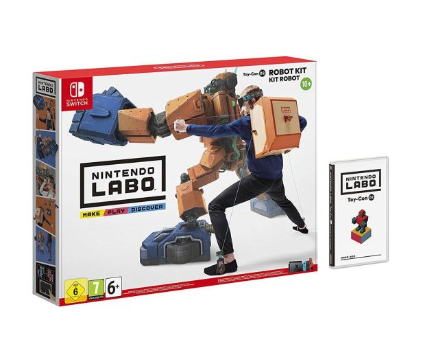 Nintendo SWITCH Labo Robot Kit - 426985 - zdjęcie