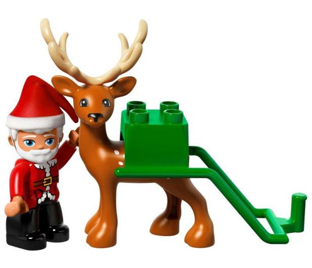 LEGO DUPLO Zimowe ferie Świętego Mikołaja - 383989 - zdjęcie 3
