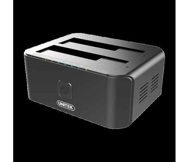 Unitek Stacja dokująca 2 x HDD USB 3.0 z klonowaniem - 434810 - zdjęcie