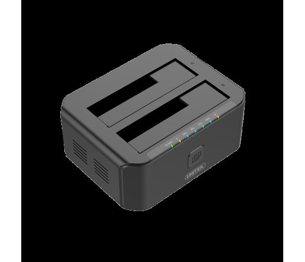Unitek Stacja dokująca 2 x HDD USB 3.0 z klonowaniem - 434810 - zdjęcie 2