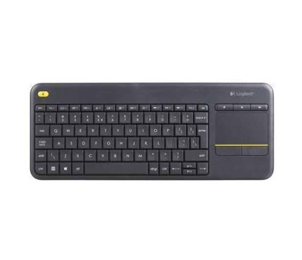 Logitech Wireless Touch K400 Plus czarna - 249334 - zdjęcie