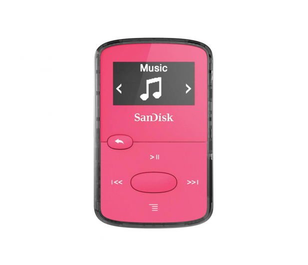 SanDisk Clip Jam 8GB różowy - 254110 - zdjęcie
