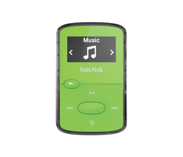 SanDisk Clip Jam 8GB zielony - 251396 - zdjęcie
