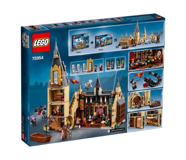 LEGO Harry Potter Wielka Sala w Hogwarcie - 437000 - zdjęcie 5