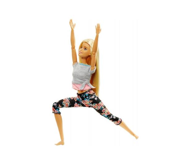 Barbie Made To Move Kwiecista Lalka Blondynka - 437018 - zdjęcie