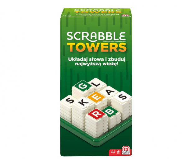 Mattel Scrabble Towers - 436988 - zdjęcie 2