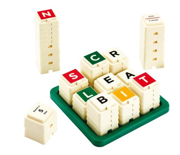 Mattel Scrabble Towers - 436988 - zdjęcie 3