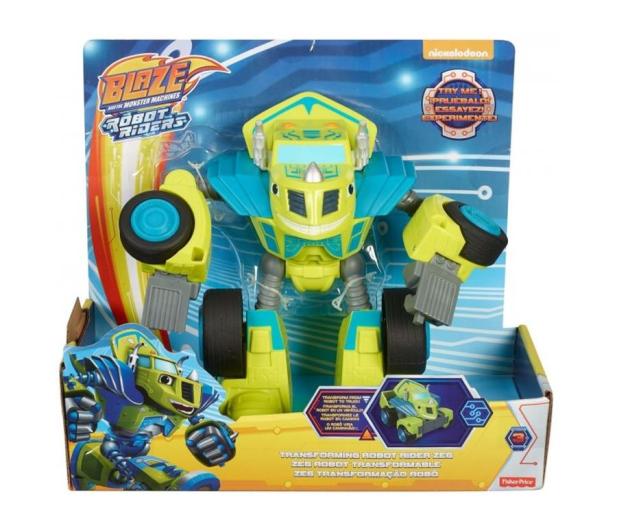 Fisher-Price Blaze Rider Zeg Pojazd Robot Zielony - 437007 - zdjęcie