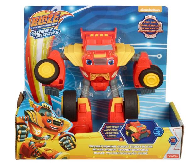 Fisher-Price Blaze Rider Pojazd Robot Czerwony - 437009 - zdjęcie