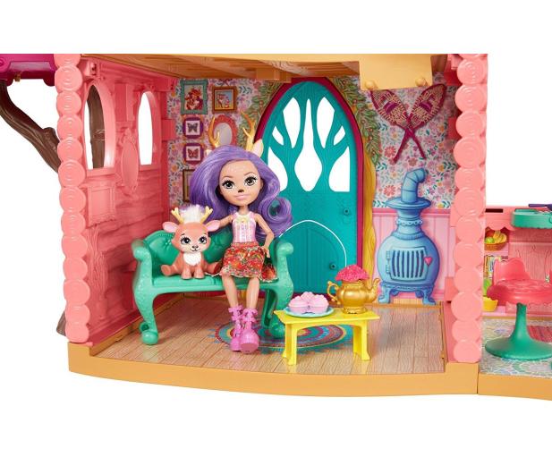 Mattel Enchantimals Wonderwood Domek Jelonków - 436972 - zdjęcie 6