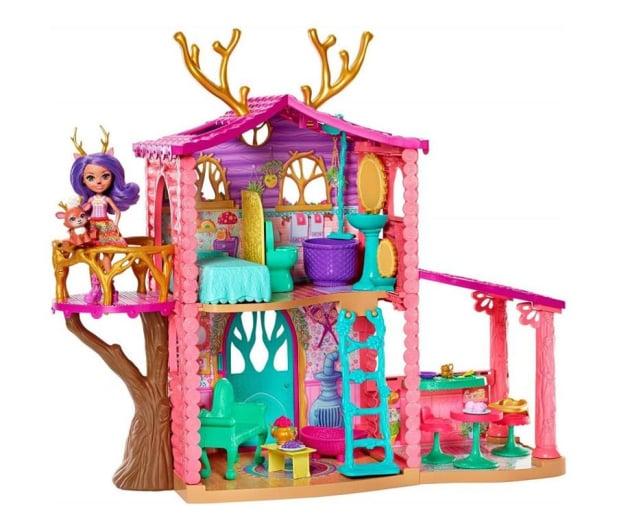 Mattel Enchantimals Wonderwood Domek Jelonków - 436972 - zdjęcie