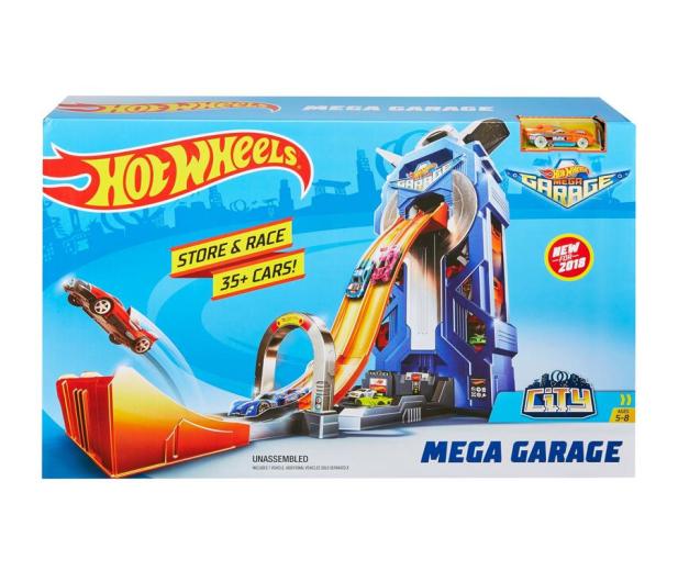 Hot Wheels Rajdowy Garaż - 437340 - zdjęcie 2