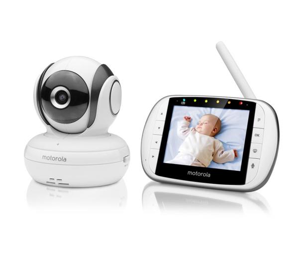Motorola Niania Elektroniczna z kamerą monitor 3.5 MBP36S - 438973 - zdjęcie