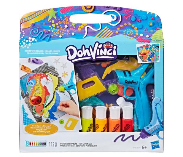 Play-Doh Doh Vinci Zestaw Create your collage - 439155 - zdjęcie