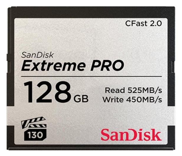 SanDisk 128GB Extreme PRO CFAST 2.0 525MB/s VPG130  - 439565 - zdjęcie