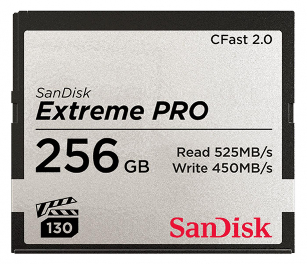 SanDisk 256GB Extreme PRO CFAST 2.0 525MB/s VPG130  - 439568 - zdjęcie