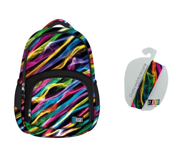 Majewski ST.Right Plecak szkolny New Illusion BP-23  - 421786 - zdjęcie
