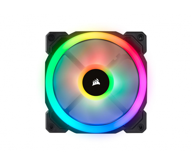 Corsair LL120 RGB LED Static Pressure 120mm PWM (trójpak) - 398973 - zdjęcie 3