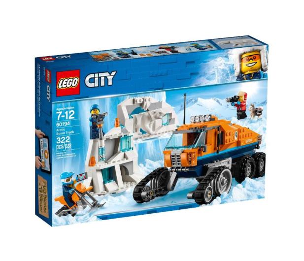 LEGO City Arktyczna terenówka zwiadowcza - 426641 - zdjęcie