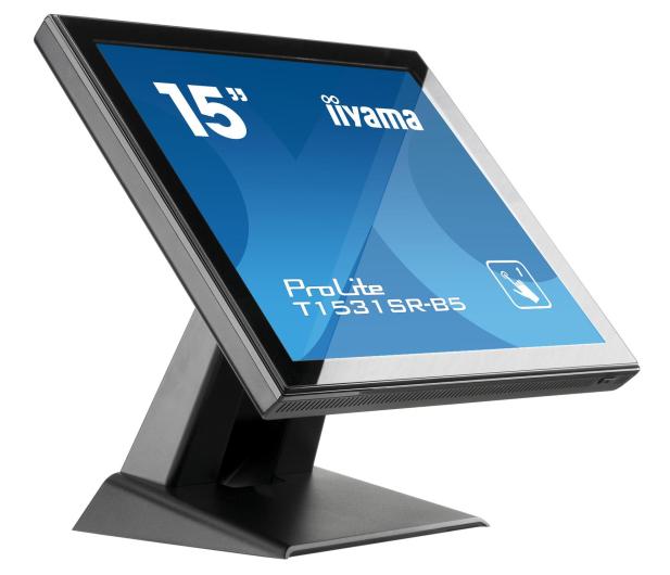 iiyama T1531SR-B5 dotykowy czarny  - 440234 - zdjęcie 5