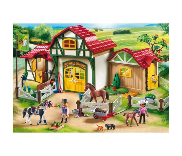 PLAYMOBIL Duża stadnina koni - 440708 - zdjęcie 2